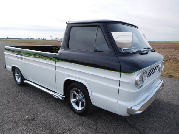 1962 CHEVY CORVAIR RAMP SIDE TRUCK!!!