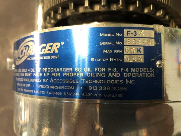 598 BBC w/ F3X Procharger