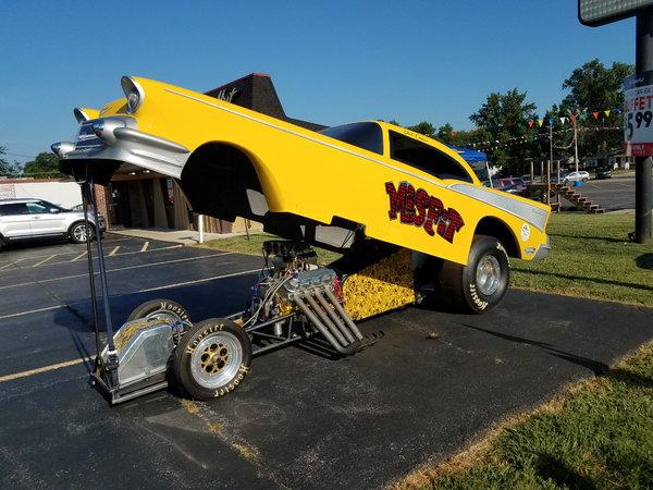 57 Chevy Nostalgia Funny Car