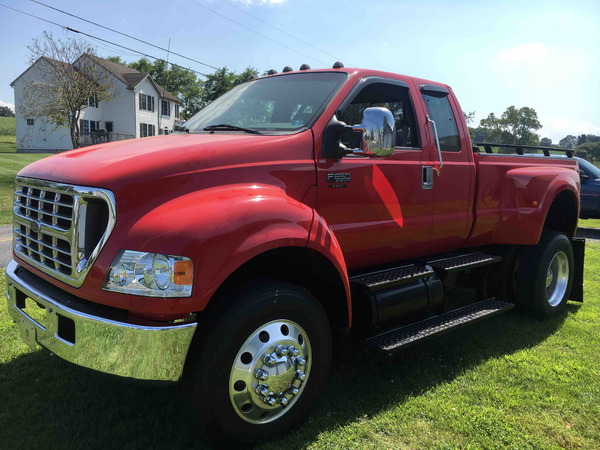 2001 Ford F650 Super Duty XLT Turbo Diesel Pickup for sale in reading, PA,  Price: $41,000