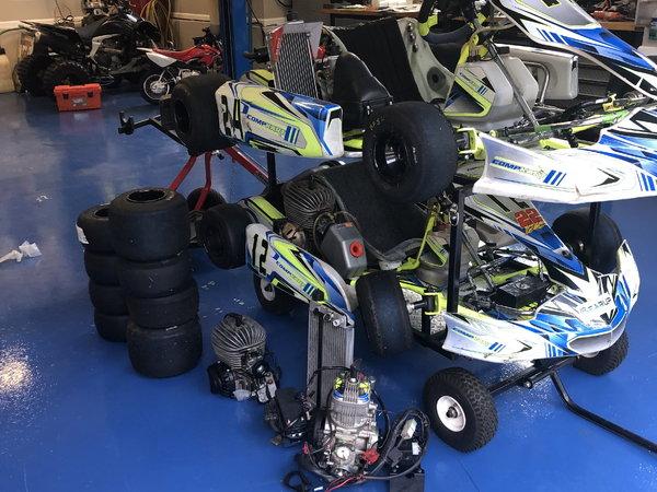 Comp Kart Go Karts  for Sale $12,000