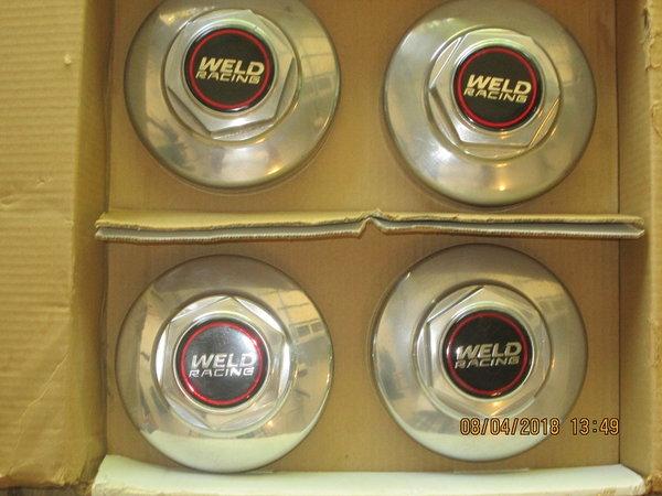 vintage weld wheel center caps  for Sale $250
