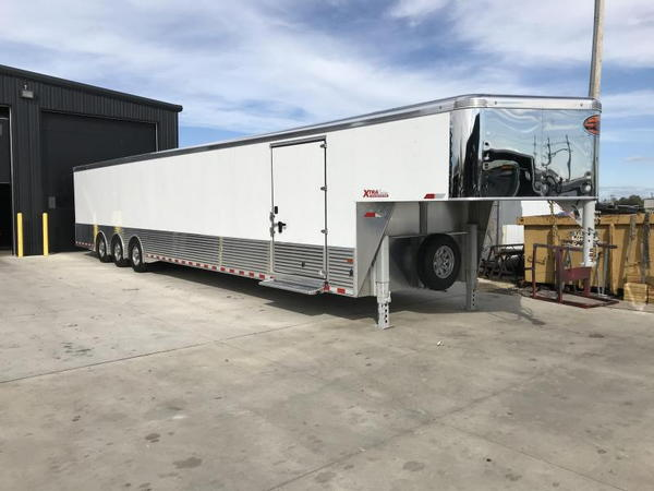 2019 SUNDOWNER 8.5X48 ALL ALUMINUM ENCLOSED CAR TRAILER STOC