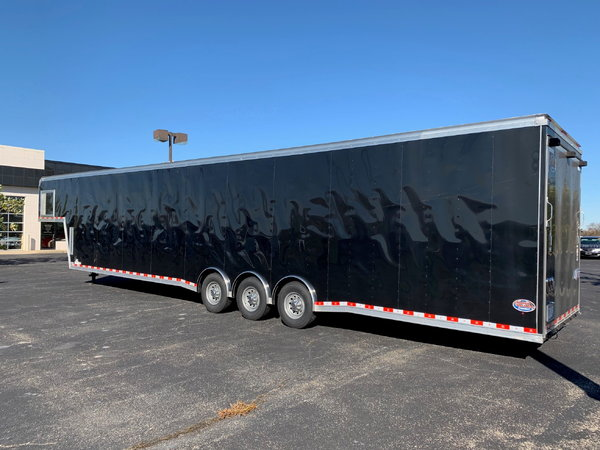 2017 United 46' Gooseneck Trailer  for Sale $20,499