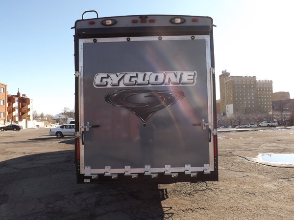 "2016 TOYHAULER ""Cyclone 4600"" For Sale"