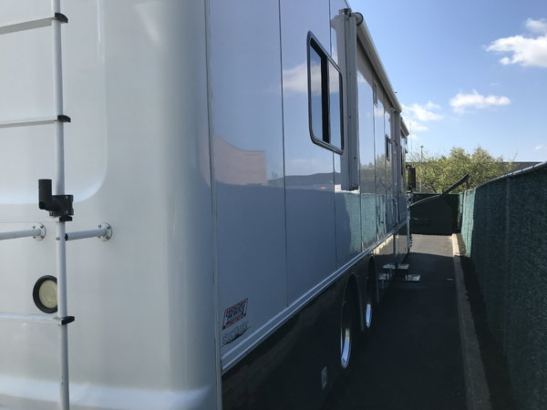 2009 Showhauler on Volvo Chassis  for Sale $199,000