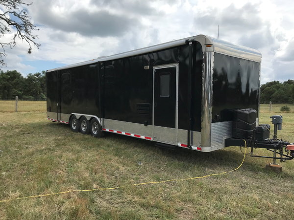 2009 Forest River Custom Toy Hauler with Living Quarters  for Sale $22,500