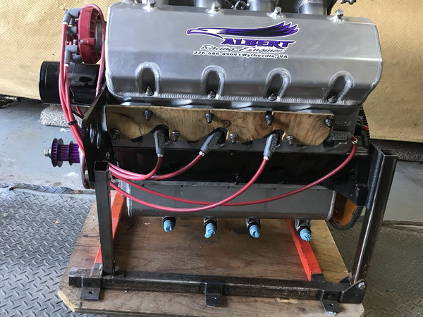 440 SBC SPLAYED VALVE ENGINE   for Sale $19,000