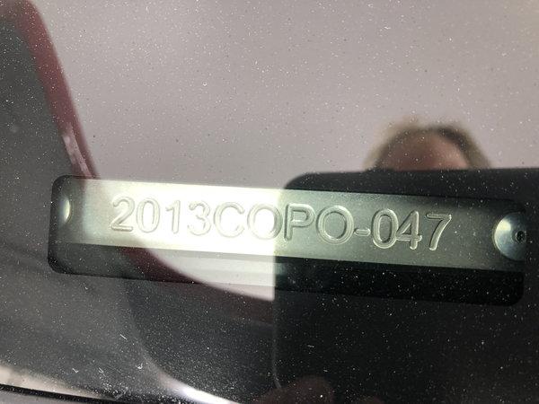 2013 Chevrolet Camaro COPO Coupe 396