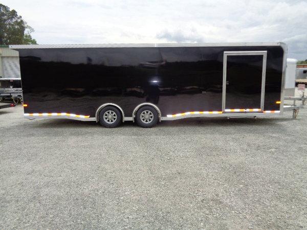 2020 All Aluminum 8.5 x 28 Sundowner Race Trailer Loaded