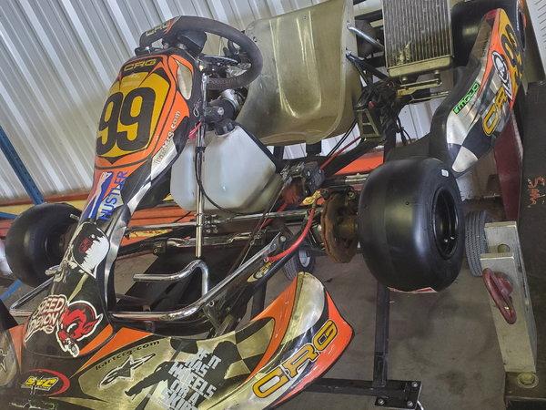 2012 crg dd2 shifter kart  for Sale $4,000