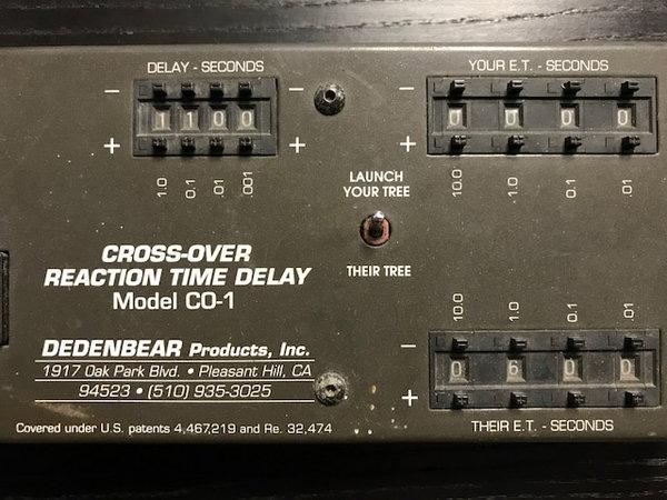 Dedenbear Cross-Over Reaction Time Delay  for Sale $125