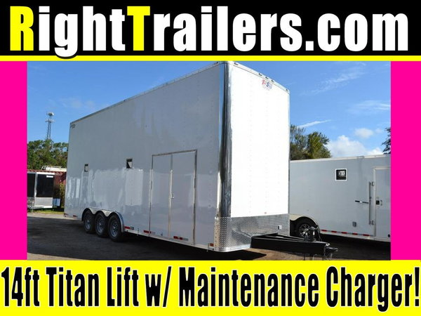 26ft Stacker Race Trailer - Nationwide Delivery - 16' Lift