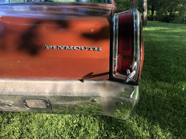1971 Plymouth Valiant  for Sale $7,500