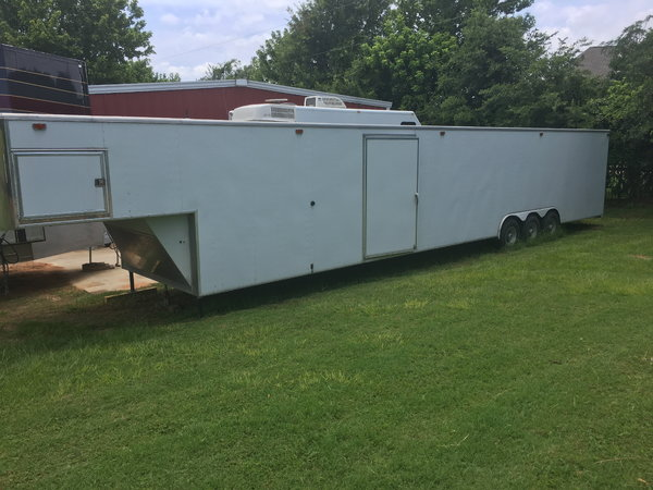 1998 B&W built 48' two car trailer  for Sale $11,500