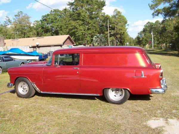 1955 Chevrolet Sedan Delivery  for Sale $28,000