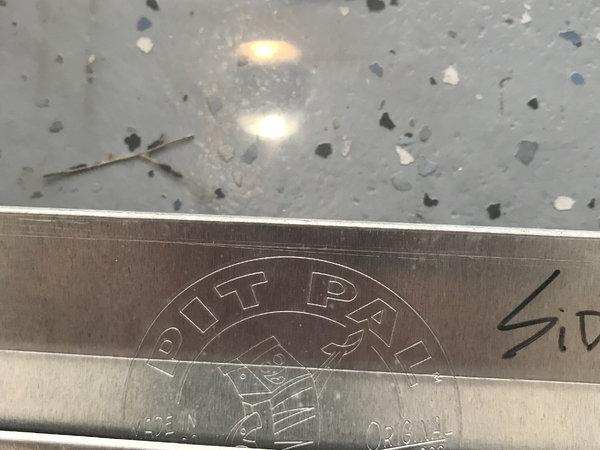 Three Sets PitPal Vinyl Strip Race Trailer Freezer Type Door  for Sale $175