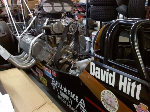 NHRA Top Alcohol Dragster With 44' Trailer = Complete Racing  for Sale $75,000
