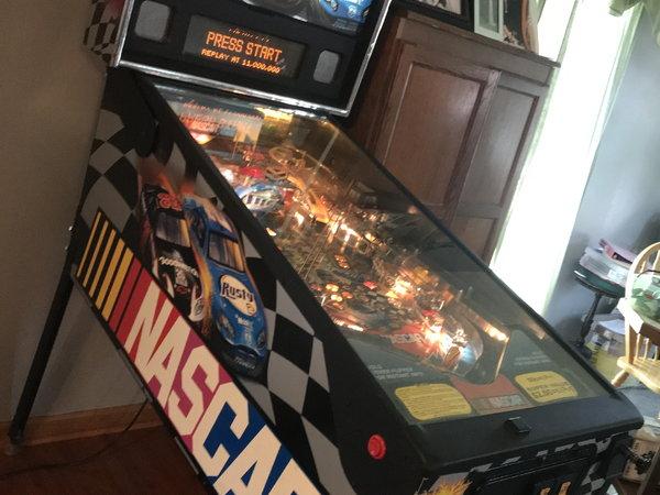 Nascar Pinball Machine  for Sale $2,500