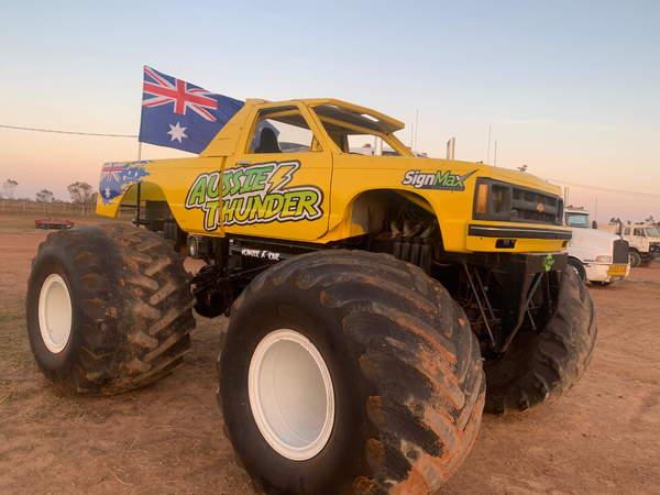 Monster Trucks For Sale >> Two Monster Trucks With Drop Deck Trailer For Sale In Korumburra Vic Price 148 500