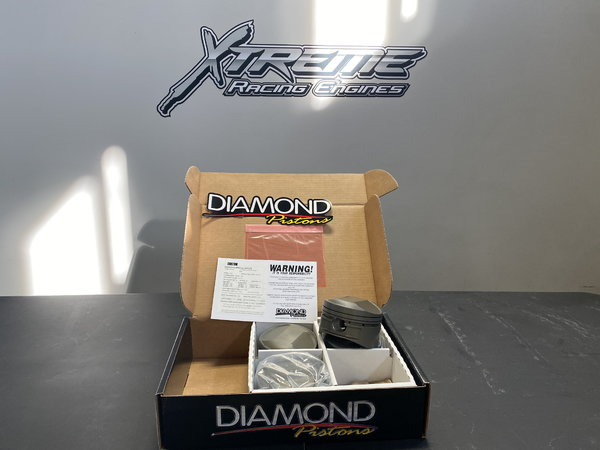 Custom Diamond Pistons for 4.8 Bore Hemi  for Sale $350