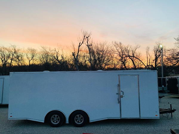2019, 8.5'X24' COVERED WAGON TANDEM AXLE ENCLOSED TRAILER  for Sale $9,495