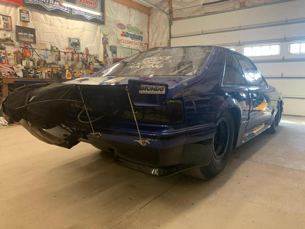1990 Mustang,legal X275 car, 25.2 - 6.0 cert ,over $125,000