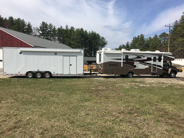 "28' T&E triple axle 11'4""stacker  for Sale $58,000"