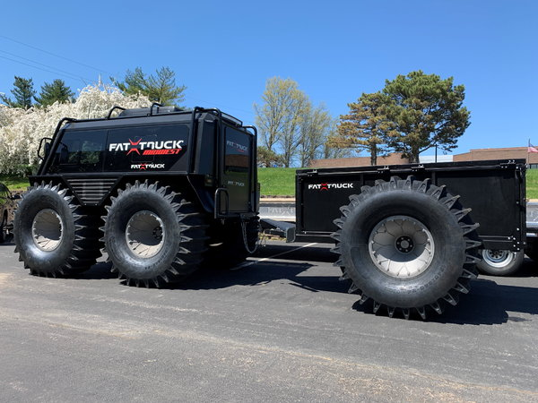 2020 Fat Truck-World's GREATEST Amphibious Vehicle w/Trailer  for Sale $135,000