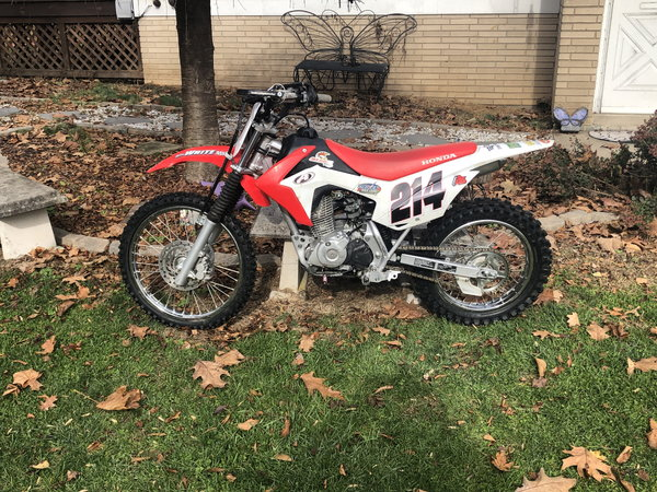 2018 CRF125F   for Sale $2,250