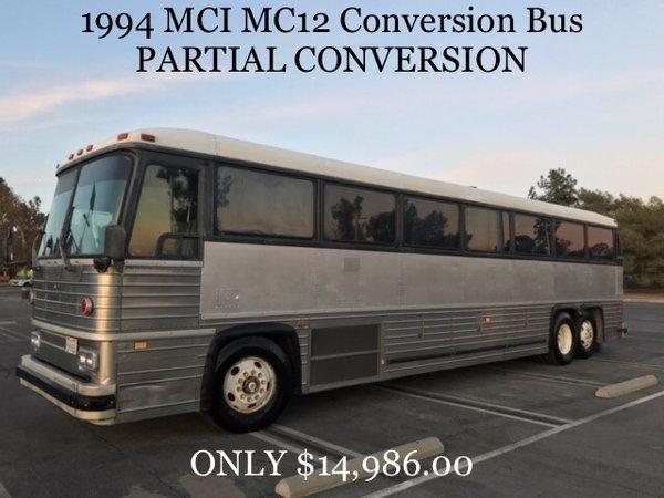 1994 MCI-12 RV conversion