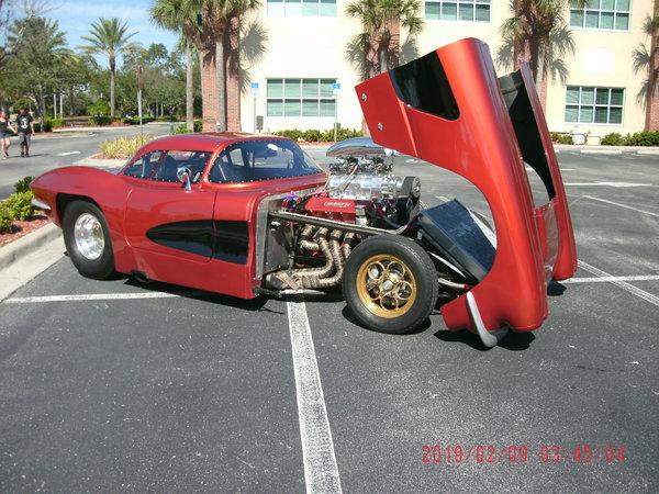 62 Corvette Pro Mod Style Street Car  for Sale $75,000
