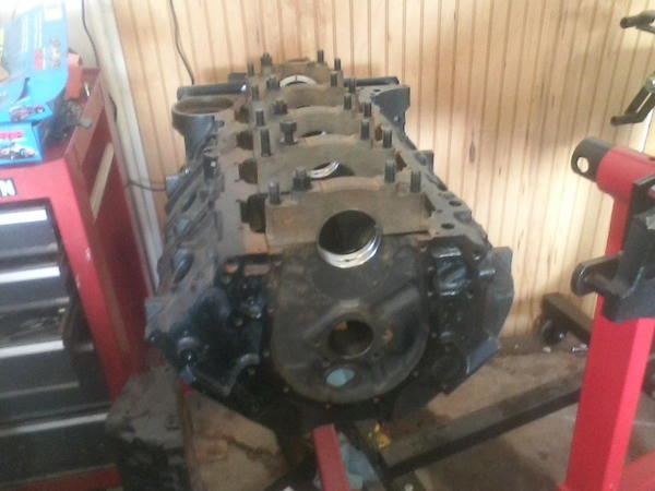 510 BBC tall Deck Short block,   for Sale $2,900