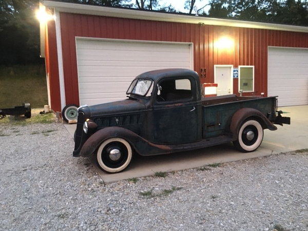 1937 Original Ford Pickup
