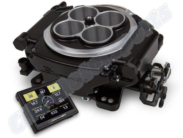 Holley Sniper EFI Self Tuning Kit Black Ceramic Finish  for Sale $1,035
