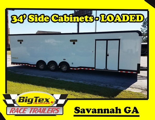 2019 Cargo Mate 8.5x34 Eliminator with the Super Stock pkg &