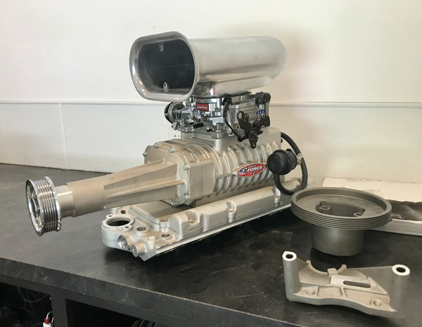Edelbrock 1551 122 SBC Supercharger Kit NEW for sale in MASSILLON, OH,  Price: $2,500