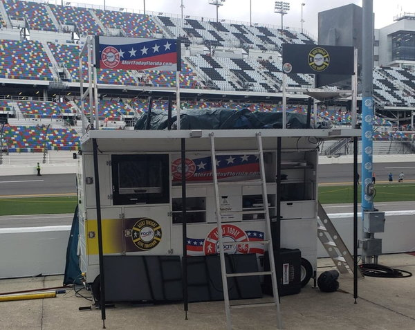 Large Nitro Mfg Oval Racing Pit Box  for Sale $16,500