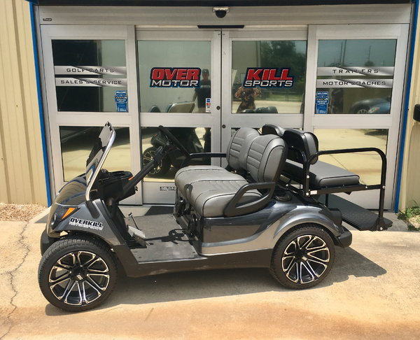 2013 YAMAHA DRIVE GAS GOLF CART 4 P - GRAY for Sale in ... on