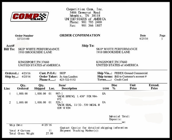 FORD 289 302 347 NKB-190cc ALUMINUM HEADS 60cc NKB-FORD-272  for Sale $729