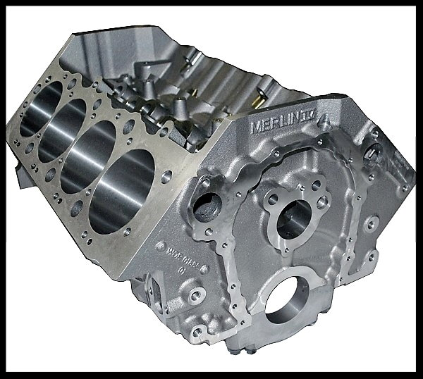 BBC CHEVY 572 MERLIN SHORT BLOCK FORGED PISTONS +12 DOME  for Sale $4,595