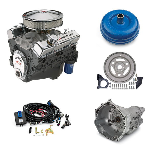 350/290 Deluxe (300 hp) Connect & Cruise Crate Powertrai  for Sale $9,667