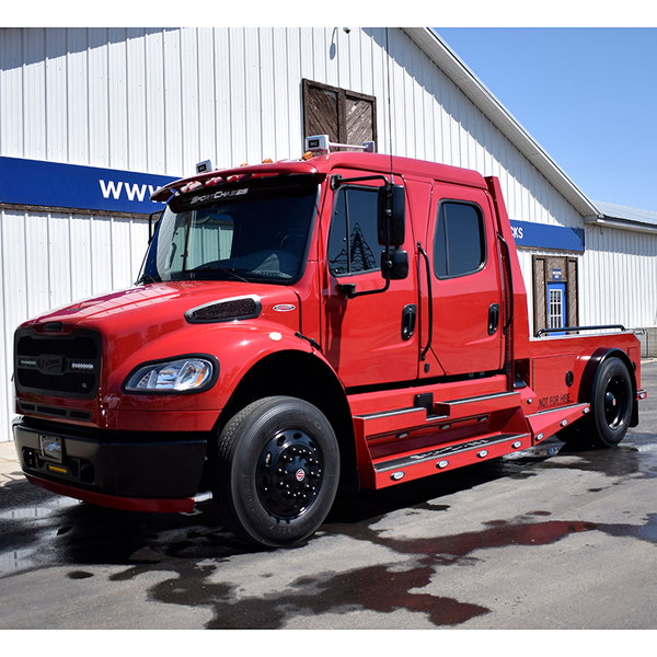 2015 Sportchassis M2 Freightliner Truck Crew Cab, Candy Appl