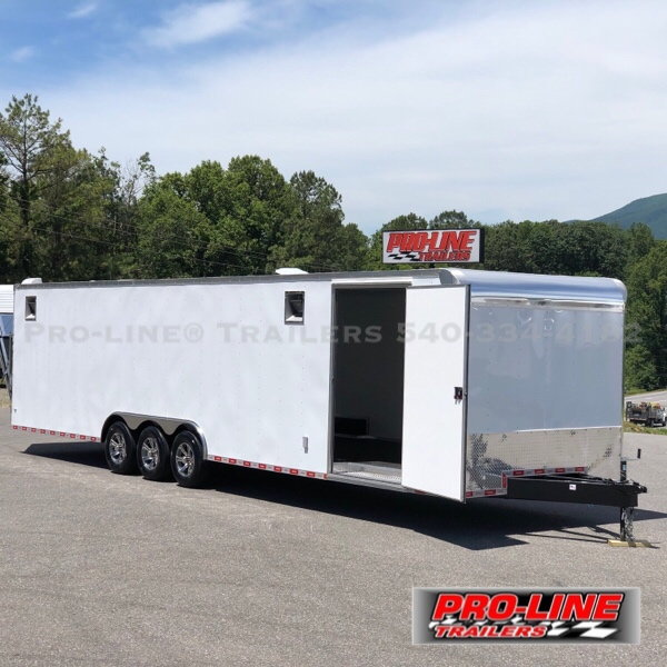 32' ENCLOSED CHAMPION RACE TRAILER  for Sale $17,454