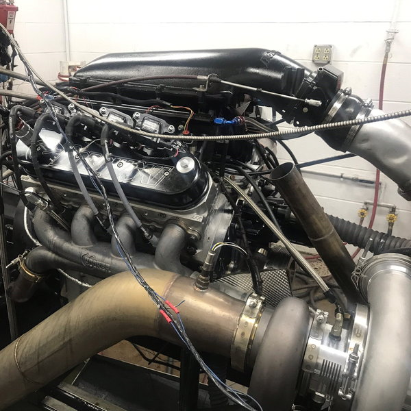 1,500 HP, Single Turbo, Hydraulic Roller, 427ci LS Engine  for Sale $29,995