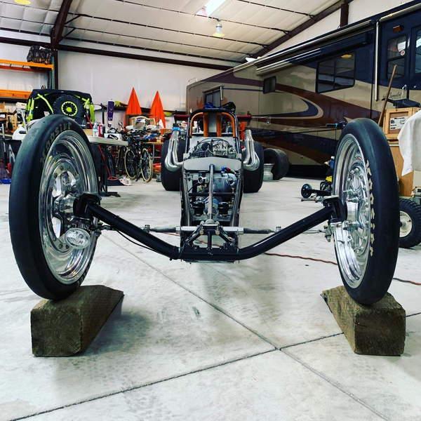 "230"" Dragster Roller"