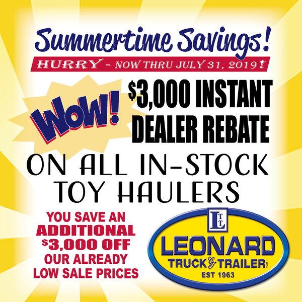 2019 SUNDOWNER GOOSENECK  Toy Hauler  for Sale $84,499