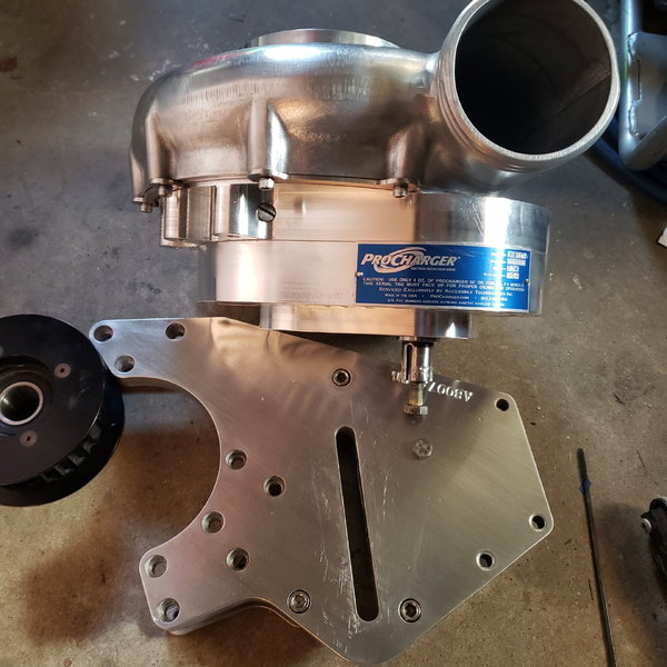 f3r 130 procharger and bracket sbc  for Sale $4,200