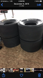 Hoosier 17/34.5/16 tires  for sale $200