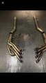 Kooks stainless headers & full exhaust mufflers & ta